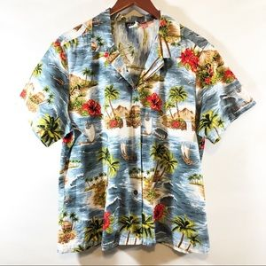 Shannon Marie vintage Hawaiian shirt sz XL